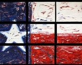 Little Bit of Texas Set of 9 8x6 Giclees based on  Original Oil on Canvas Paintings