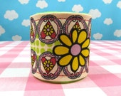 Canvas Cuff, Hearts, Flowers and Polka Dots