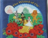 "Vintage "" The Wizard Of Oz"" Soft Cloth Book from the Classic ""There is No Place Like Home"" BY Turner Entertainment"