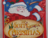 "Christmas Classic Story "" The Night Before Christmas"" BY Mary Engelbreit Soft Cloth Book"