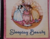 "Vintage  Soft Cloth Book from the Classic ""Sleeping Beauty"" Happily Ever After"