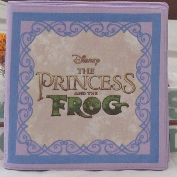 """Classic Disney Fairy Tale Story Of  """" The Princess And The Frog"""""""