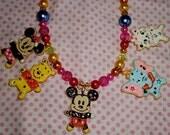 SALE SALE Disney sugar cookie re ment Harajuku kawaii deco den decoden necklace