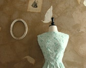 Vintage 1960s Mint To Be Dress