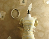 Reserved For Hannah Vintage 1950s Labor Of Love Dress