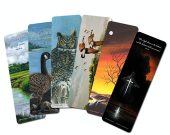 Set of 6 Bookmarks