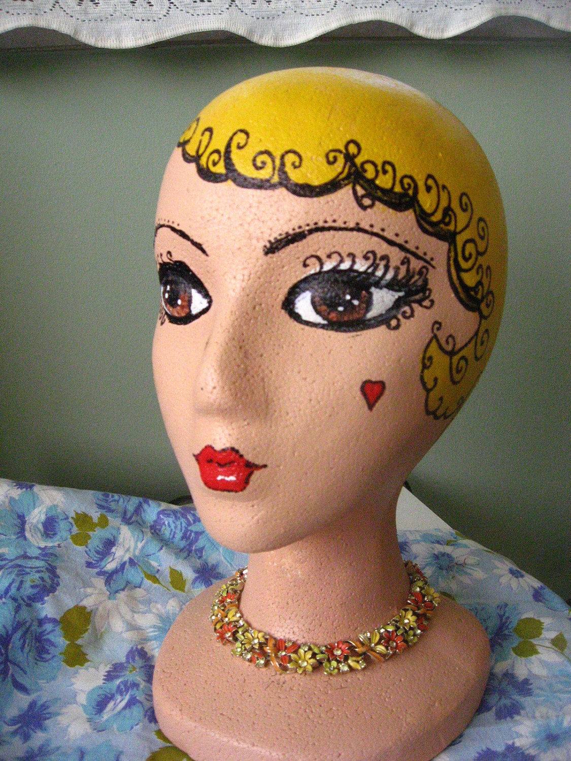 Request a custom order and have something made just for you Styrofoam Mannequin Head