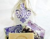 2 Bar Set Lavender Goat Milk Soap