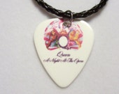 """QUEEN Bracelet - """"A Night At The Opera"""" Guitar Pick"""