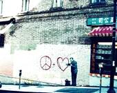 chinatown graffiti in san francisco california fine art photograph