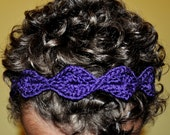 Crochet Pattern PDF - Headband / Bracelet - To the Point - Newborn to Adult Sizes
