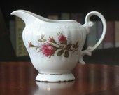 Moss Rose Fine China Royal Rose Creamer