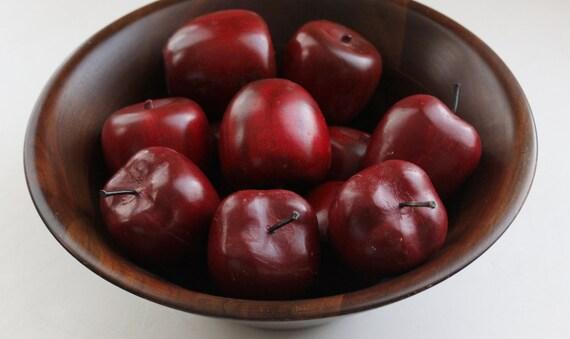 Vintage Walnut  Serving Bowl By Vermillion