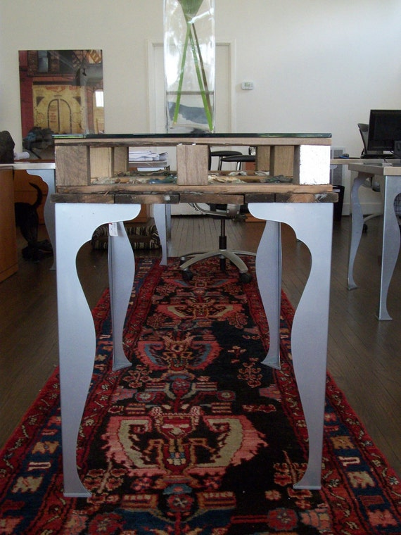 American Salvaged Wood Console Table