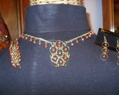 Clearance/Gold Stone 12 & 1 Weave Chainmaille