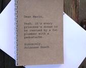 Journal  - Dear Mario, Sincerely Princess Peach