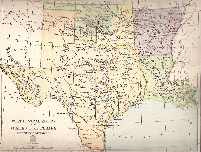 Map Of Louisiana And Texas With Cities MAP