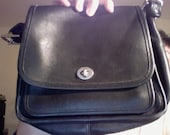 Classic Genuine Leather Vintage Coach Bag