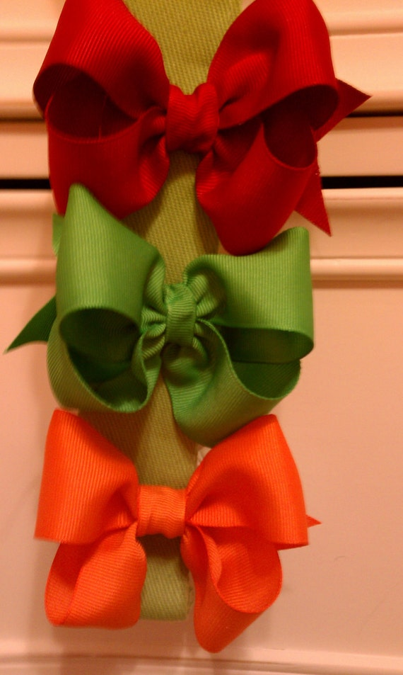 Lot of 10 medium bows 1 Dollar Boutique Bows over 25 color choices