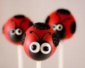 So Sweet Pops Happily Made Ladybug Inspired Cake Pops