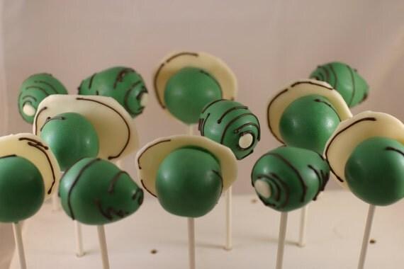 Green Eggs & Ham Cake Pops