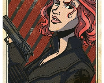 Avengers Poster: Black Widow