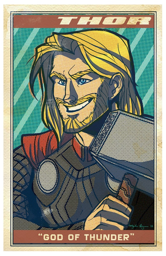 Avengers Poster: Thor