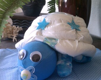 Diaper Turtle Night Light