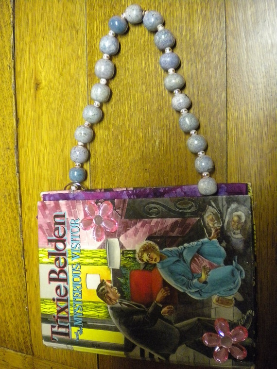 Vintage book purse Trixie Belden - Retro VLV Fun