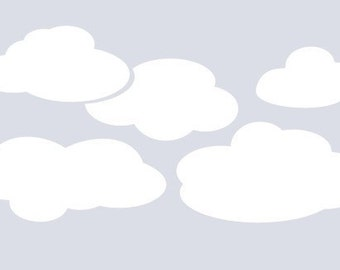 Clouds for the Wall Vinyl Decal
