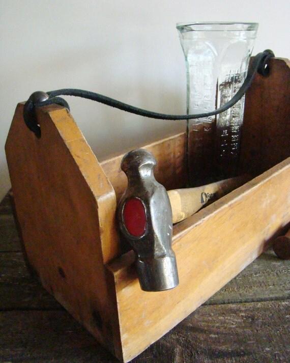 SALE-Wood Tool Box- Free Shipping