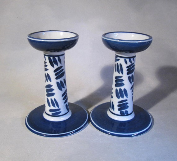 Dansk Herringbone Candle Holders,  1992 design