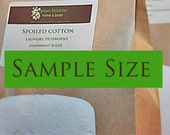 Organic Laundry Detergent Sample Size, 10 to 21 Loads