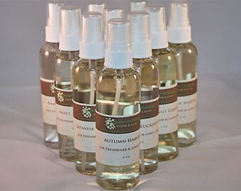 Room and Linen Spray Gingerbread Village 4 oz