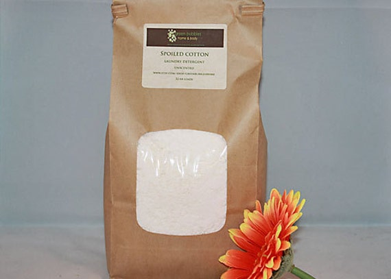 Organic Laundry Detergent, Unscented - Stain Lifting