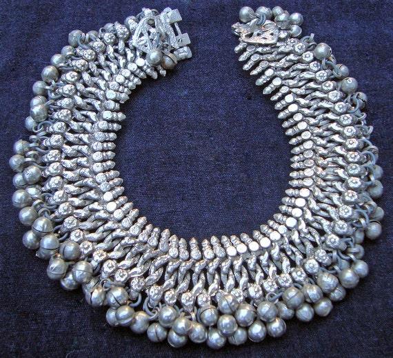 Vintage Kuchi Tribal Waziry-Style Anklet, Ankle Bracelet