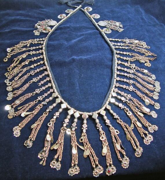 Vintage Afghan Kuchi Tribal Kabul Key Dangle Shoelace Belt