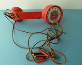 SALE -- 1960's Lineman's Handset with Rotary Dial
