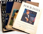 Vintage Magazines And Book Four Days On The Assassination Of President John F. Kennedy