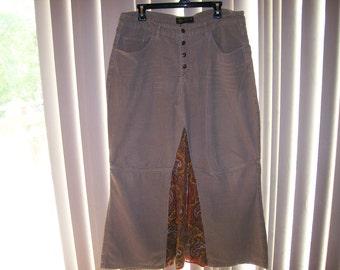 Long hippie skirt
