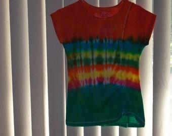 Girls tye dyed tshirt