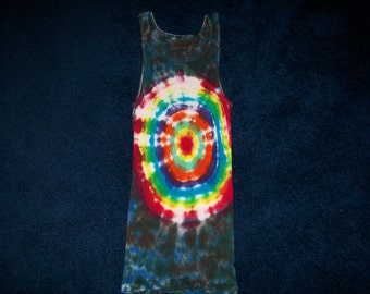 Adult tye dyed tank top