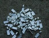 100 Large size large glue on bails - FREE SHIPPING