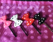 Two pairs Mix and Match hair pins
