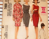 1960s Vintage McCalls Pattern Dresses and Blouse Set