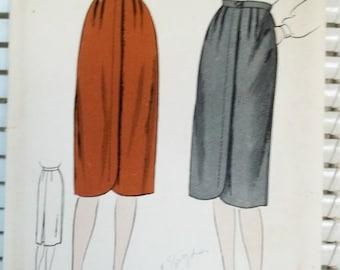 1940s Vintage Women's Skirt Vogue Patterns