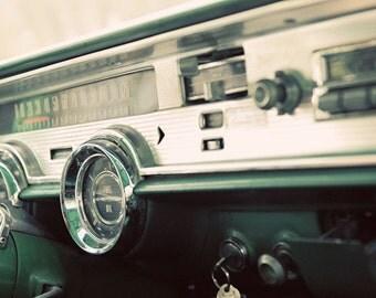 Pontiac Dash - 5x7 - Cullman, Alabama - Vintage Pontiac - Fine Art Photography - Stacie Carter