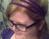 Purple 3 Strand Headband: Awesomeness Included
