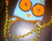 Custom Made Owl Hat for Collin and Knox :)
