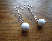 Earring hanging Murano glass bead also in other colours